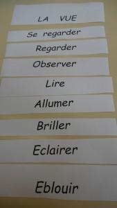 ANNEXE 4 étiquettes LA VUE